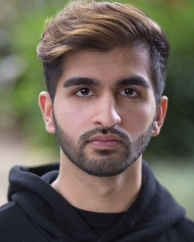 Male Actor  Wez Ahmed - Stirling Management Actors Agency