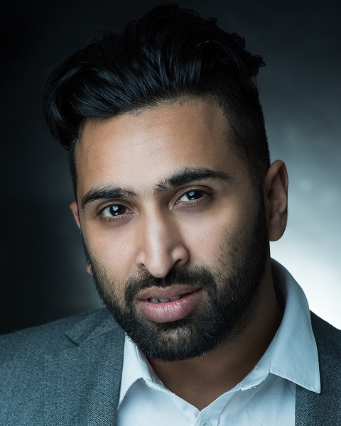 Male Actor  Zar Damani - Stirling Management Actors Agency